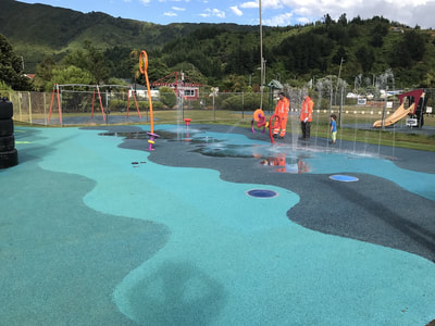 Splash pad project for Picton foreshore